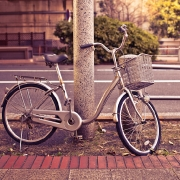 Bikes are everywhere in Tokyo