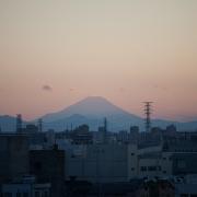 Fuji-san from the Shinkansen